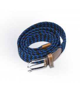 Blue-Black men's belt