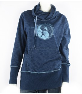 Dream women's indigo sweatshirt