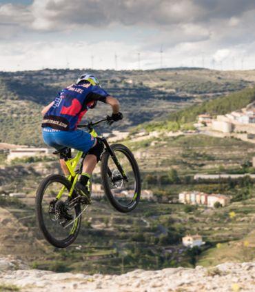 Coloma unisex blue mountain bike (MTB) shorts