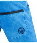 Turia BR men's blue climbing and trekking shorts