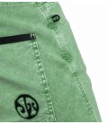 Turia BR men's green climbing and trekking shorts