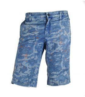 Pantalon de VTT Heras Camo Bleu
