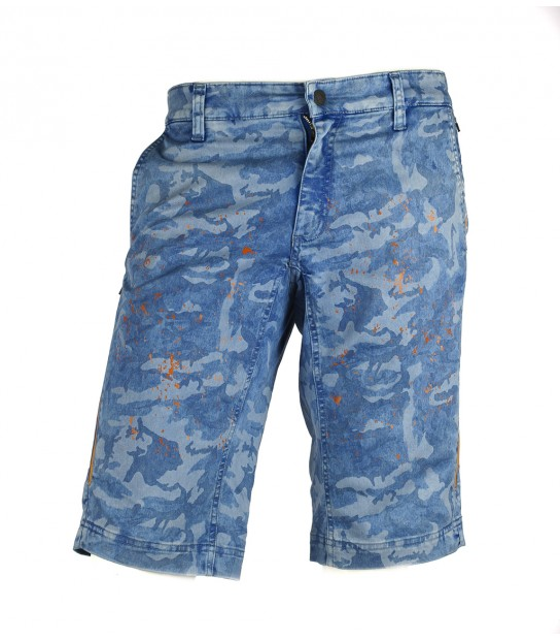 782ecb944b3 -40% Heras Camo blue men's mountain bike (MTB) baggy jeans