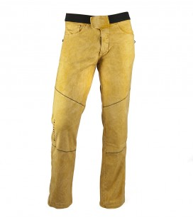 Turia men's mustard climbing and trekking trousers