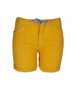Cervol short women's orange outdoor pants