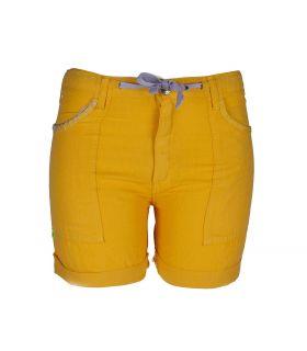 Pantalón Trekking Cervol Short Naranja Mujer