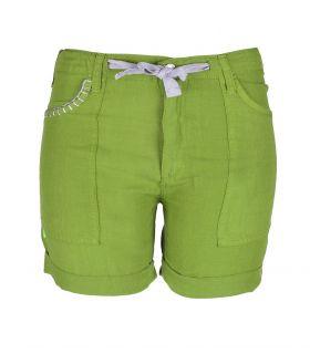 Pantalón Trekking Cervol Short Verde Mujer