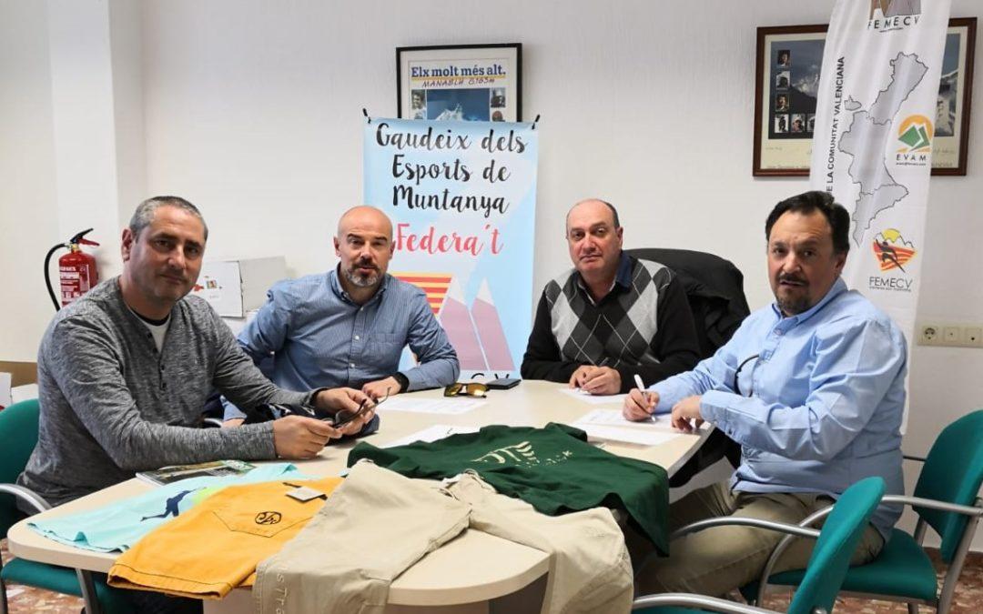 La Femecv viste moda deportiva valenciana de la mano de JeansTrack.