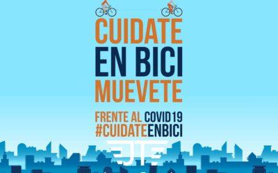 FRENTE AL COVID-19 MUEVETE EN BICI
