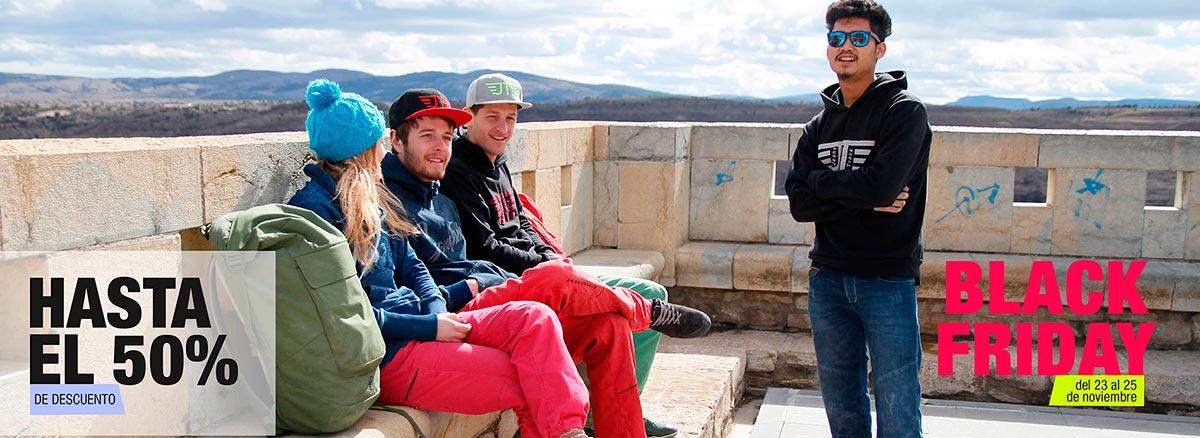 Blackfriday Jeanstrack. Pantalones jeans, camisetas y complementos MTB, trekking y escalada
