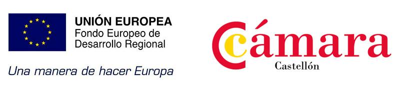 FOndeos feder y programa Xpande digital Camara Comercio Castellon