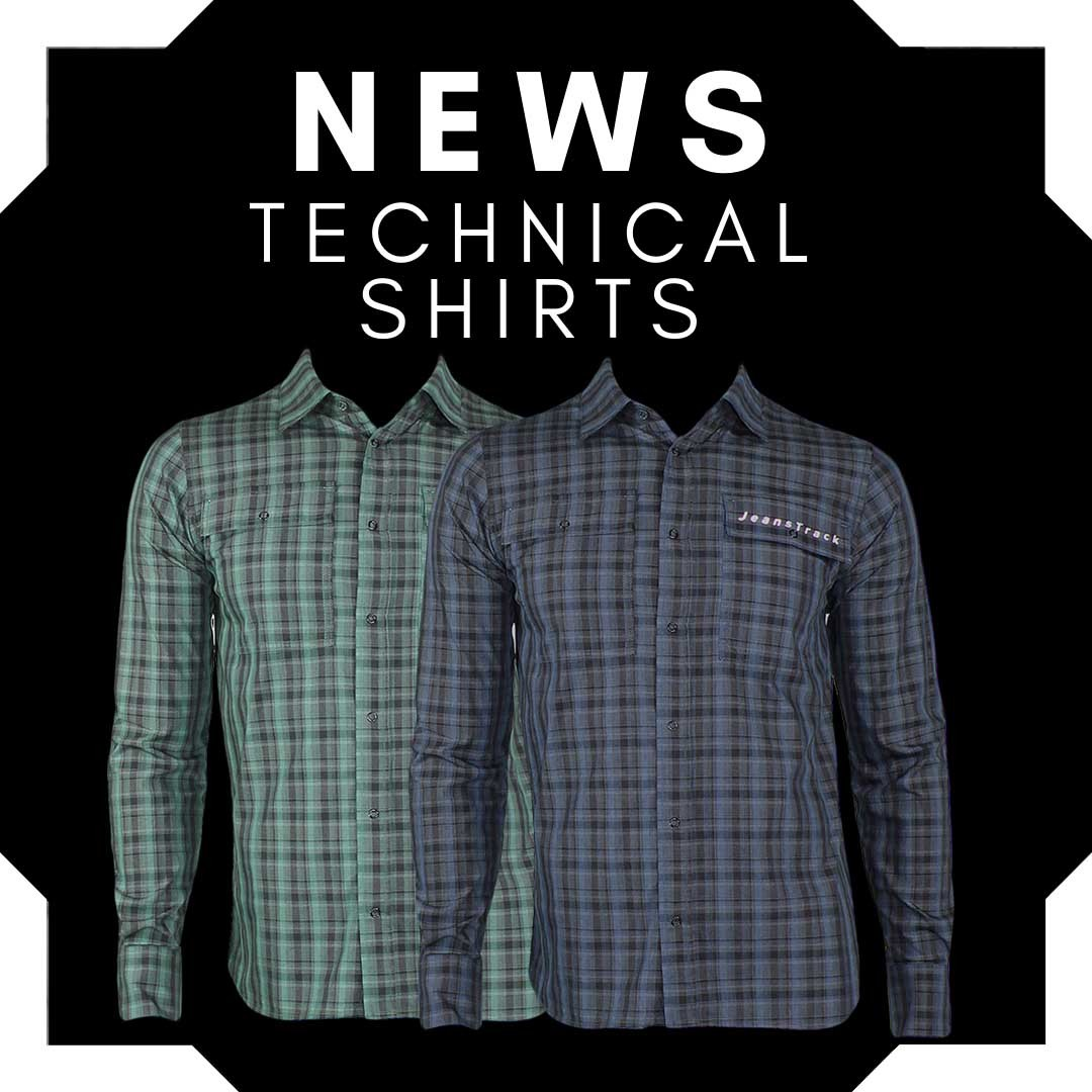 New technical shirts for gravel, urban cycling, mtb, climbing...