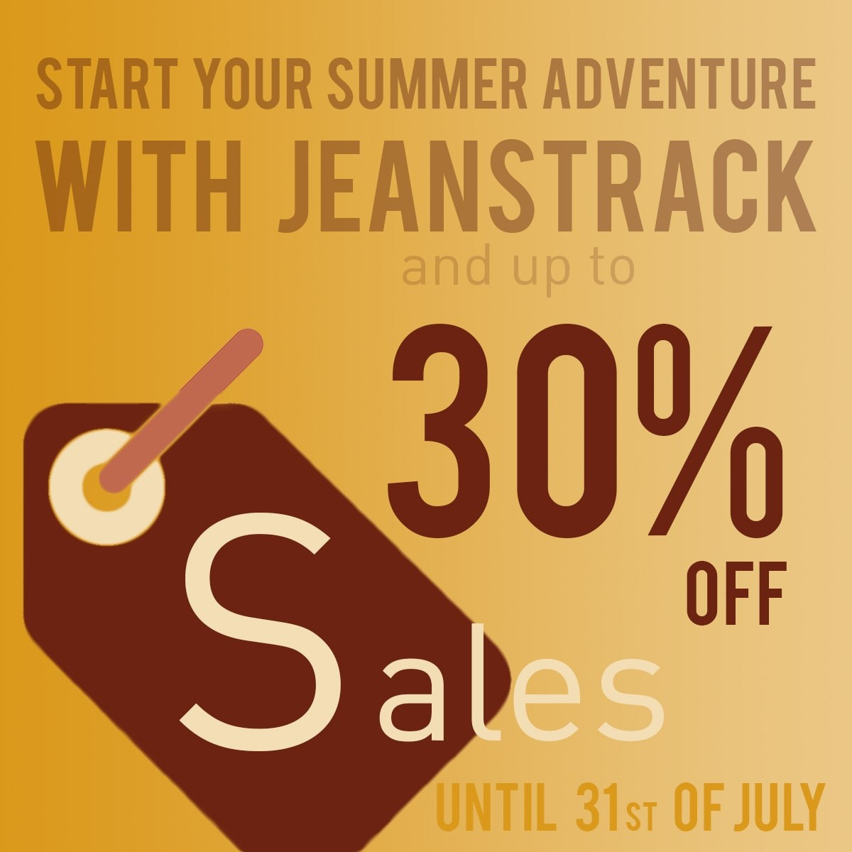 Sales in Jeanstrack