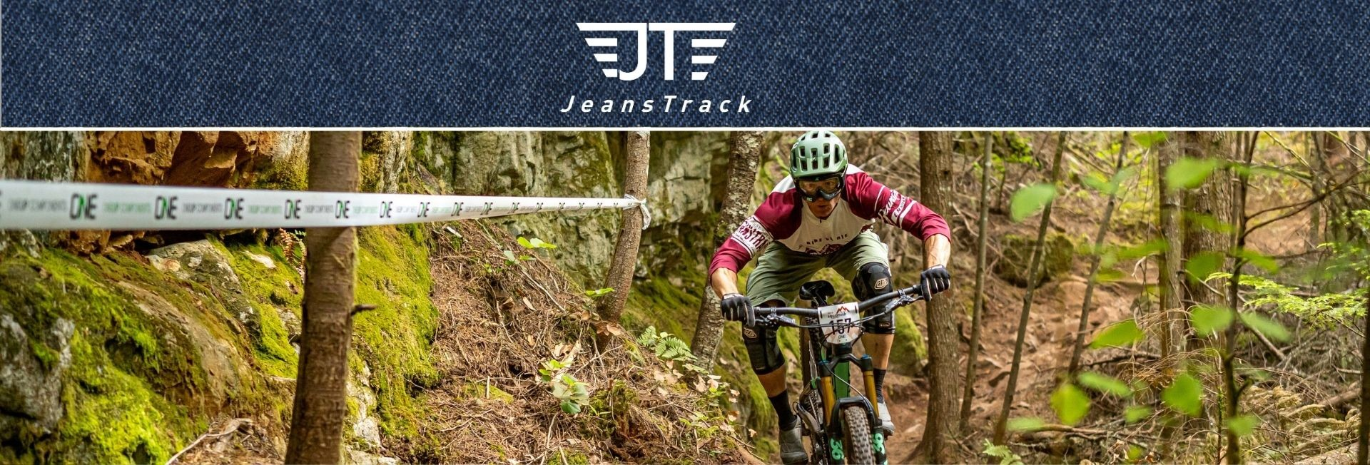 Jeanstrack clothes for mountain bike men