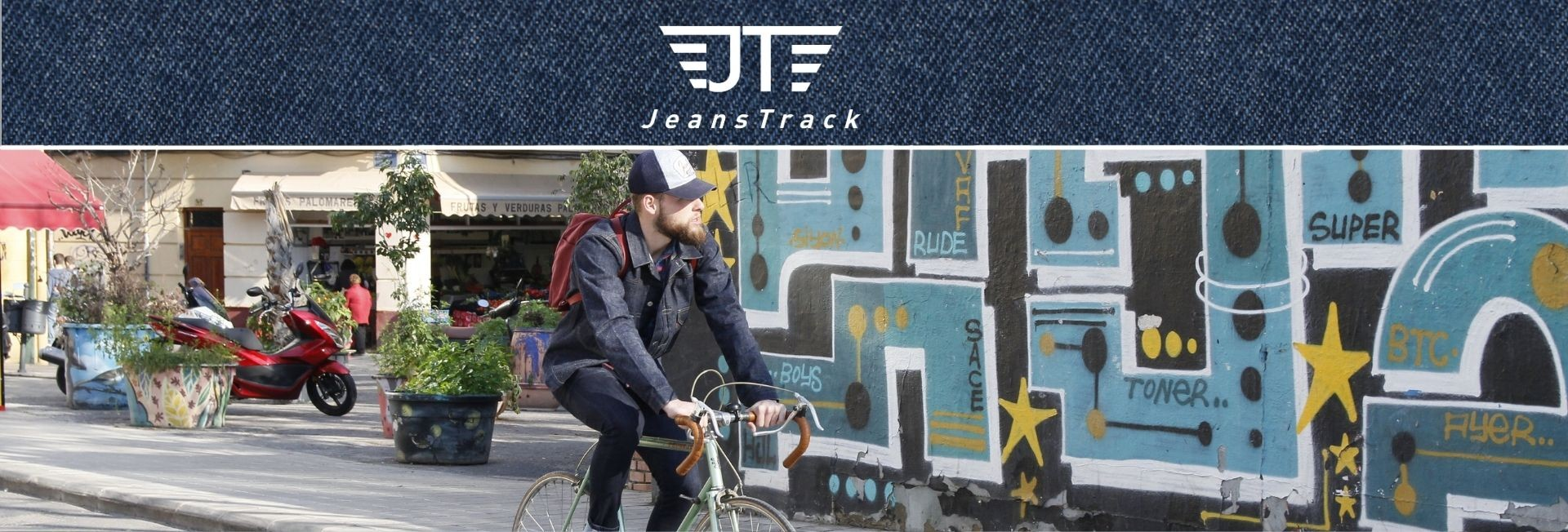 Jeanstrack clothes for urban cycling