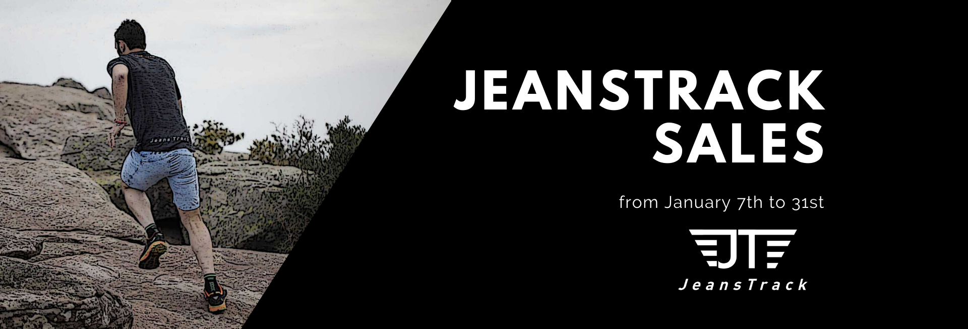 Sales in all clothes for mtb, bike, climbing, boulder, urban cycling. jeanstrack