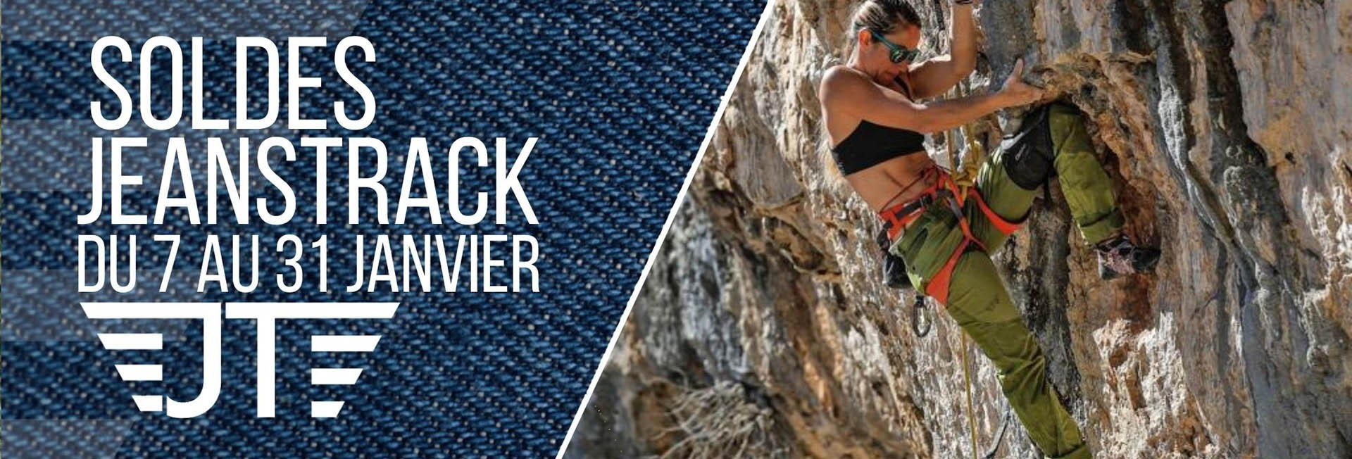Sales Jeanstrack. Climbing and Trekking Technical Clothes